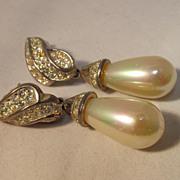 Pr Faux Pearl Earrings