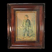 Antique Baxter Color Print