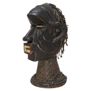 African Ejagham [Ekoi) Head Nigeria