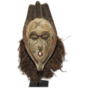 Old African Ceramic Mask