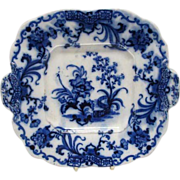 Early English Flo Blue Plate