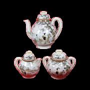 SALE Kutani Teapot Sugar Bowl Creamer