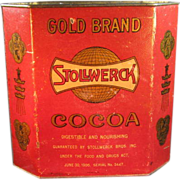 Old Stollwerck Cocoa Tin