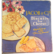 Old Jacob & Co Biscuit Tin
