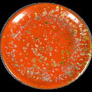 Enamel on Copper Dish/Plate