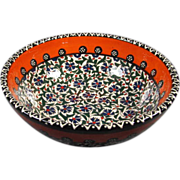 Turkish Pottery Bowl