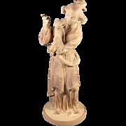 Asian Porcelain Figure of a Musician