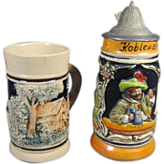 Miniature German Stein & Mug