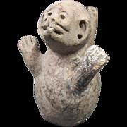 REDUCED Antique Monkey Vessel Pre-Columbian