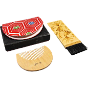 Japanese Comb and Brush Set