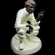 Minton Bronze/Porcelain Figurine The Traveler