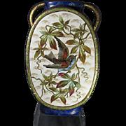 Stunning Antique Old Paris Cabinet Vase