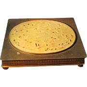 Chinese Box Hard Stone Plaque