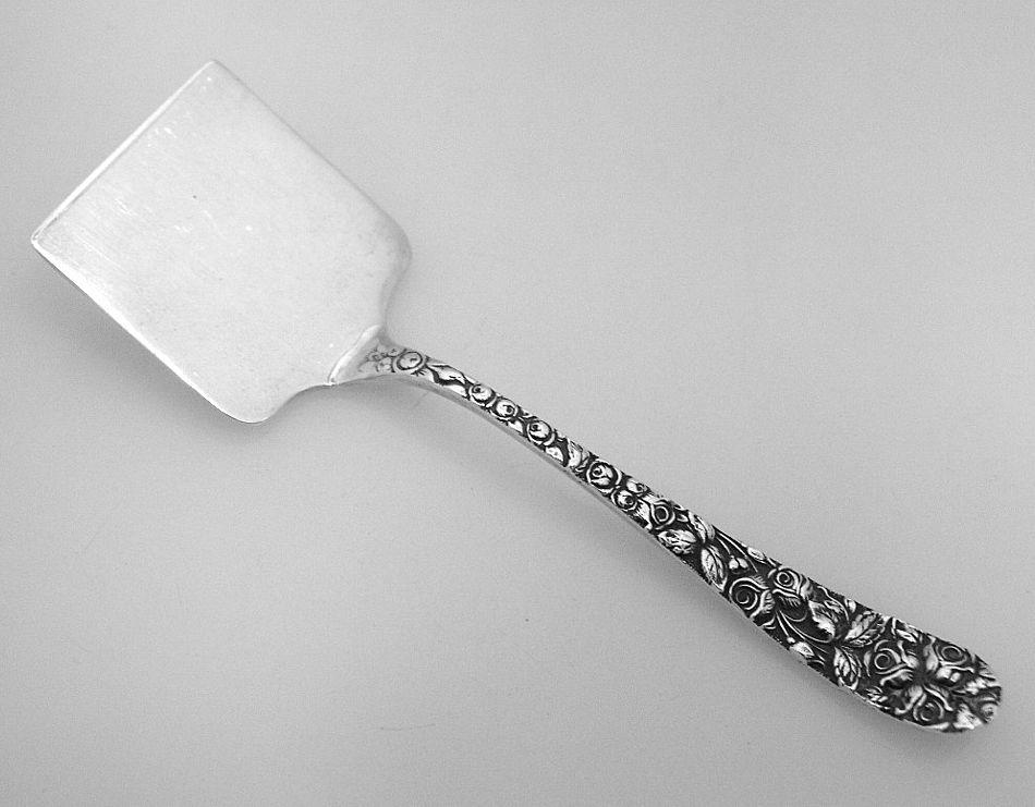 Baltimore Rose Nut Shovel Schofield Sterling Silver 1905
