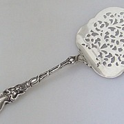 SALE PENDING Douvaine Tomato Server Sterling Silver Unger Brothers 1890