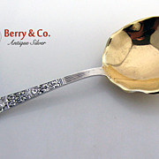 Old Medici Berry Spoon Sterling Silver Gorham 1880