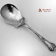 Gorham Poppy Berry Spoon Sterling Silver 1902