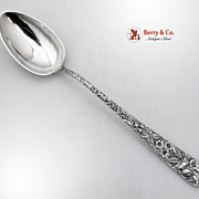 Repousse Large Stuffing Spoon Kirk And Son Inc 1940s