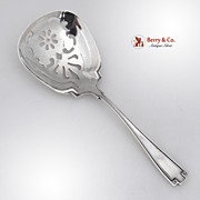 Etruscan Bon Bon or Nut Spoon Gorham Sterling Silver 1913