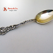Versailles Pap Spoon Gorham Sterling Silver Gilt Bowl Monogram ESD