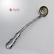 Mustard Ladle Louis XV Whiting Sterling Silver 1891