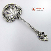 Ornate Bon Bon Candy or Nut Spoon Gorham Sterling Silver
