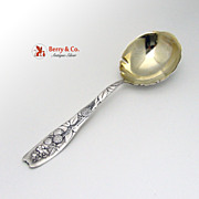 Berry Serving Spoon Whiting Sterling Silver