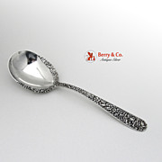 SALE Repousse Berry Spoon with Lacing Kirk Sterling Silver 1893