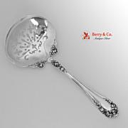 Pea Spoon Sterling Silver Wallace 1898 No Monogram