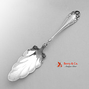 Rose Jelly Cake Server Wallace Sterling Silver 1898