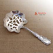 Waverly Bon Bon Candy Spoon Wallace Sterling Silver 1890