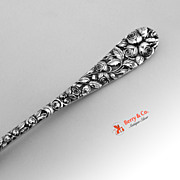 Baltimore Rose Master Butter Knife Sterling Silver Schofield