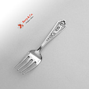 Queen Louise Baby Fork Sterling Silver Watson 1912