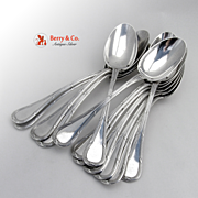 Bougainville Set of 12 Table Spoons Sterling Silver Puiforcat