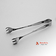 Prelude Sugar Tongs International 1939 Sterling Silver