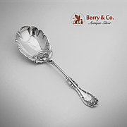 Hanover Berry Casserole Spoon Silverplate Wm A Rodgers 1901