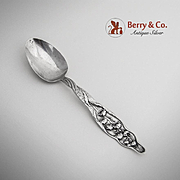 Lily Teaspoon Sterling Silver Whiting 1902