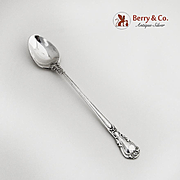 Chantilly Baby or Infant feeding spoon Sterling Silver Gorham