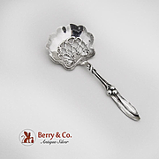 Bon Bon Candy or Nut Spoon Sterling Whiting 1900