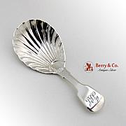 Tea Caddy Spoon Sterling Silver London 1830 William Chawner
