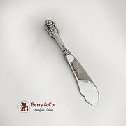 Grande Baroque Master Butter Knife Sterling Silver Wallace