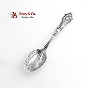 Vintage New York Souvenir Spoon Statue of Liberty Sterling Silver 1900