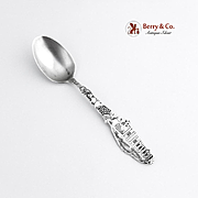 San Gabriel Mission Souvenir Spoon Sterling Silver Paye and Baker 1900