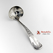 Cream Ladle Aesthetic Sterling Silver San Francisco 1886