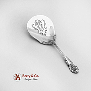 Sir Christopher Bon Bon candy Nut Spoon Sterling Silver Wallace