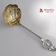 Medallion Sugar Sifter Gorham 1864 Sterling Silver Pomeroy