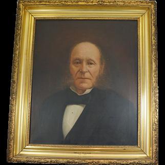 Portrait of Donald McAlpine 1806-1890 by S. K. Davidson