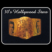 30's Hollywood Fay Wray Bracelet, King Kong Heroine, Deco