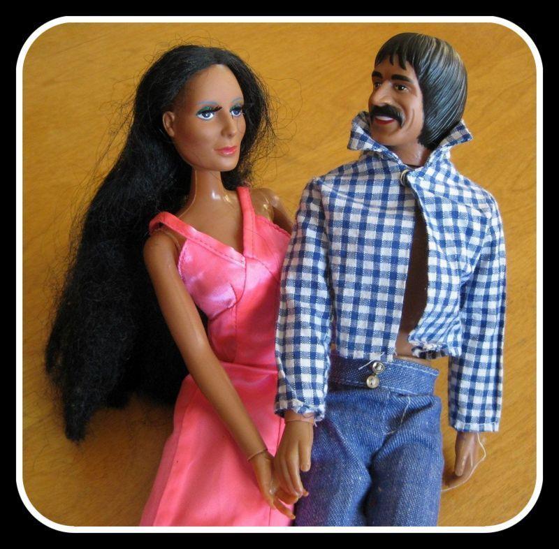 Sonny & Cher Dolls, '75 & '76 Mego