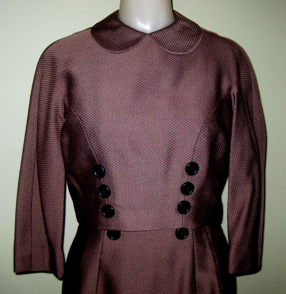 """Jacket Dress, Early 60's """"That Girl"""" Vintage"""